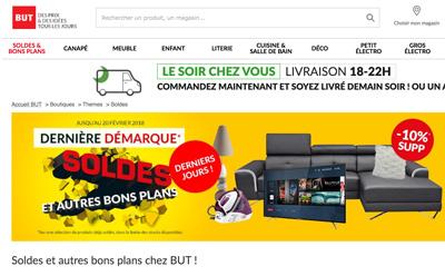 Les promotions But.fr pour la rentrée